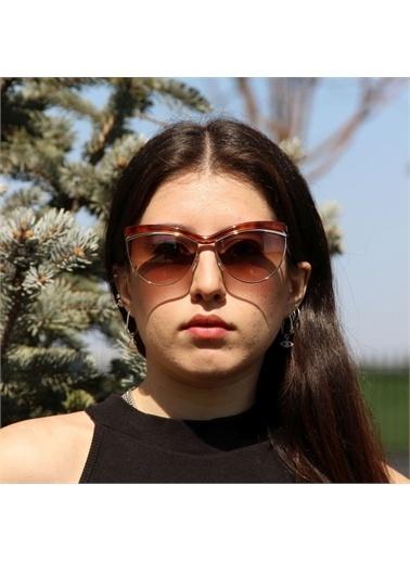 Emilio Pucci  Ep 0010 52F 61 Kadın Güneş Gözlüğü Kahve